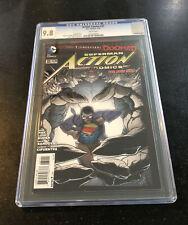 Action Comics #31, CGC 9.8 W/Pages Superman Doomed 2014 DC Comics