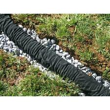 Flexible Drainage 4 x 50 ft. Polypropylene Perforated Expandable Pipe W/Sock