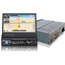 """AUTORADIO MIT GPS NAVIGATION BLUETOOTH 7"""" BILDSCHIRM USB SD MP3 1DIN + MAP FD"""