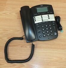 Genuine AT&T (972) Black Corded 2-Line Telephone With Speakerphone **READ**