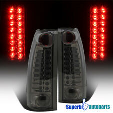For 1994-1998 Chevy C10 C/K 2500/3500 LED Tail Lights Smoke Replacement
