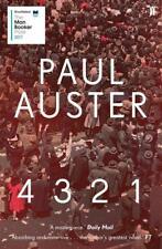 4 3 2 1 (4321) von Paul Auster (2017, Taschenbuch)