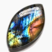 Cts. 44.15 Natural Spectrolite Labradorite Cabochon Marquees Cab Loose Gemstone