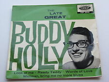 Buddy Holly Original 1964 Gb E. P. The Late Great Buddy Holly