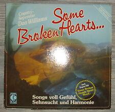 "LP Don Williams ""Some broken hearts"" ,VG+,K-tel TG 1311,OIS"
