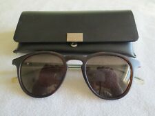 Hugo Boss brown frame polarized sunglasses. 0964/S. With case.