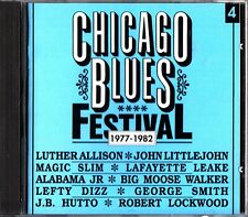The Best Of CHICAGO BLUES FESTIVAL Vol. 4 1977-1982 CD Luther Allison/Magic Slim