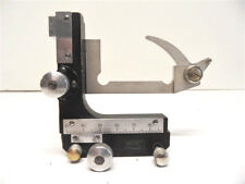 """ELEMENT ACCESSOIRE MICROSCOPE""""NACHET""""CROIX TABLE MARGEUR MADE IN FRANCE N°2 ART"""