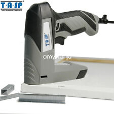 Woodworking Electric Staple Nail Gun Tacker Stapler 45W 220V for Power Tool