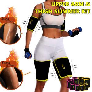 Sweat Sauna Belt Thigh Arm Trimmer Shaper Fat Burner Body Slimming Cincher Hot