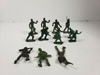 Vintage plastic toy soldiers army men lot
