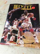 Beckett Basketball Magazine Monthly Price Guide Hakeem Olajuwon October 1994