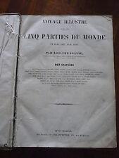 Joanne Voyage illustré dans les cinq parties du monde Brest Bretagne Le Caire..