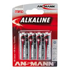 Ansmann Alkaline battterie AA Mignon 1.5 V Battery lr6 Power baterías 4er Pack