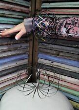 Flux Flow Ring Slinky Bracelet Geo Kinetic Spring Fidget Toy Silver