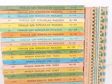 TURKLER ICIN KONUSULAN INGILIZCE SPOKEN ENGLISH FOR TURKS 1972