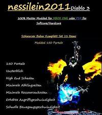 Diablo 3 RoS PS4/Xbox One - SCHWARZER - Barbar 150 Portale 100% Unsterblich