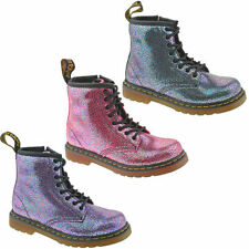 Dr. Martens Leather Upper Shoes for Girls