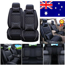 Comfortable Wearproof PU Leather Car Seat Cover Full Surrounded Universal Season