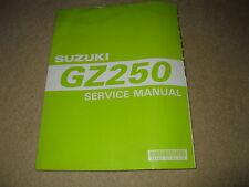 Genuine OEM Suzuki Motorcycle Workshop Service Manual - GZ250