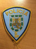 MEXICO PATCH POLICE POLICIA D DF. - ORIGINAL
