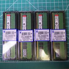 64GB KINGSTON (4 x 16GB) DDR4 ECC 2666Mhz 280pin Memory - KTD-PE426D8/16G