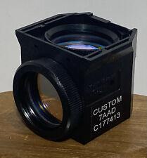 Nikon Chroma Custom 7aad C177413 Eclipse Microscope Fluorescence Cube For D Fl