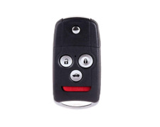 ECCPP Uncut Keyless Entry Remote Control Car Key Fob Replacement for Honda Acura