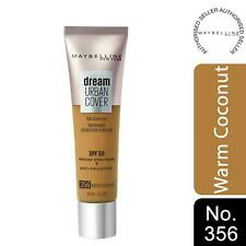 Maybelline Dream Urban Cover SPF50 All-In-One Protective Makeup, 356 WarmCoconut