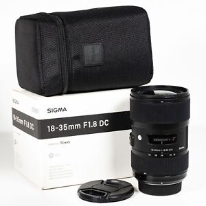 Sigma DC 18-35mm f/1.8 HSM Lens for Nikon DX