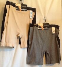 Delta Burke Intimates 2 Pair Long Length Slip Shorts Plus Size New With Tags