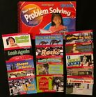 1st Math PROBLEM SOLVING BIG BOOK (Teacher's) + 15 Readers (ON LEVEL)  - Used