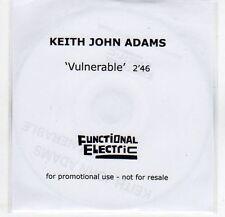 (EF292) Keith John Adams, Vulnerable - 2013 DJ CD