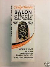 SALLY HANSEN SALON EFFECTS REAL NAIL POLISH STRIPS ( ROCK N' ROAR ) NEW.