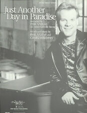 Phil Vassar Just Another Day In Paradise 2000 Photo Sheet Music