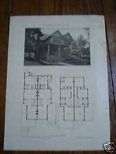 2 New Rochelle Ny Houses: 1911 article w pics/plans