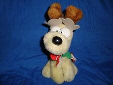 """Mcdonald's 1990 Christmas Plush Christmas Dog Odie 7.5"""""""
