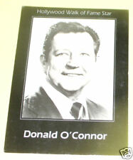 Donald O'Connor - Hollywood Walk of Fame 1960s PostCard