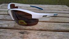 Maxx HD Sunglasses Raven 2.0 White golf driving lens brown fishing polarized A1