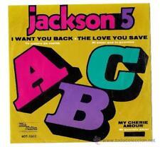 MICHAEL JACKSON & JACKSON 5-ABC- SINGLE MEXICO EP-PORTADA UNICA!!!!!!!!!-AÑOS 70