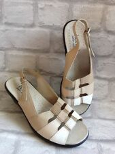 Hotter Women's 100% Leather Block Sandals & Beach Shoes