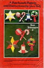 """A Patchwork Pattern by Yours Truly Sewing Quilt Craft 3937 """"Patchwork Stockings"""""""