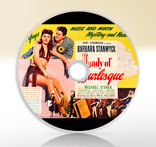 Lady of Burlesque (1943) DVD Classic Mystery Film / Movie Barbara Stanwyck