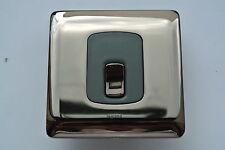 legrand Synergy 7314 10 20A DP Switch modern polished black nickel