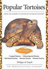 Popular Tortoises by Philippe De Vosjoli