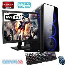 FAST QUAD CORE Desktop Gaming PC Computer Bundle 3.5GHz 16GB 1TB R7 Graphics gb1