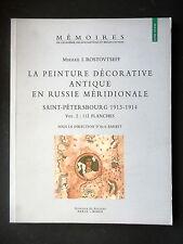 LA PEINTURE DECORATIVE ANTIQUE EN RUSSIE MERIDIONALE SAINT-PETERSBOURG  VOLUME 2