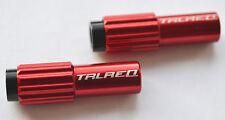 2 x cavo rosso della canna regolabile-adatto per 4 o 5 mm