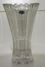 """Blumenvase Vase brillantes Bleikristall-Glas 24% PbO """"Lisa Mori Austria"""" NEU"""