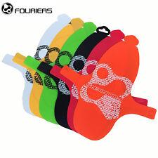 Fouriers MTB Front Fork Fenders Mud Guard DH Bike Mudguard PP 28g Multicolor Rear Black